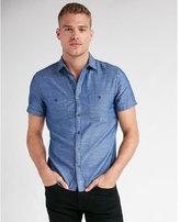 Express dobby short sleeve shirt