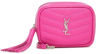 Saint Laurent Lou Micro leather crossbody bag
