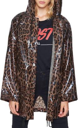 Pam & Gela Leopard Print Raincoat