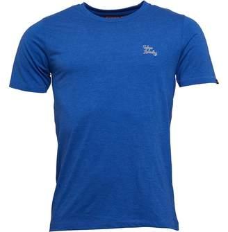 Tokyo Laundry Mens Montecarlo T-Shirt Cornflower Blue