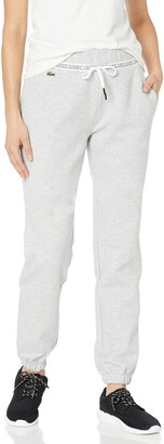Lacoste Womens Sport Wording Double Face Track Pants Track Pants