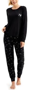 Jenni Pajamas & Scrunchie Set, Created for Macy's