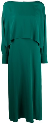 Erika Cavallini Layered-Look Maxi Dress