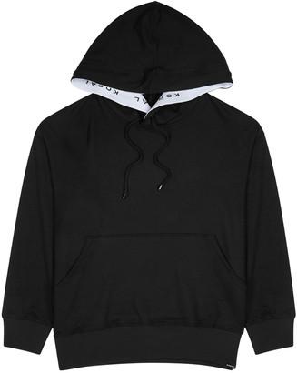 Koral Activewear Spry black terry sweatshirt