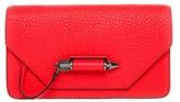 Mackage Zoey-C Dual Mini Leather Crossbody Bag In Flame