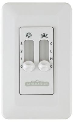 Fanimation CW6 Wall Control - CW6WH