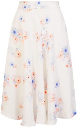 Sophie Cameron Davies Beach Flower Midi Skirt