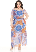 Maggy London Curve Echo Maxi