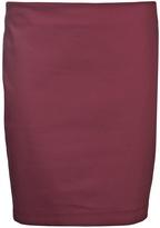 The Row 'Garbe' stretch techno skirt