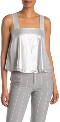 Rachel Roy Tosca Metallic Swing Tank Top