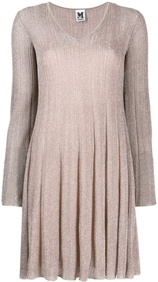 M Missoni Ribbed Knit Dress