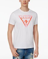 GUESS Men's Liner Logo Cotton T-Shirt