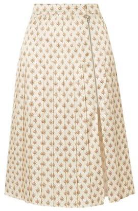 ALEXACHUNG 3/4 length skirt