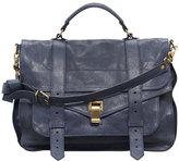 Proenza Schouler PS1 Large Satchel Bag, Midnight