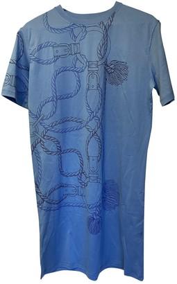 Hermã ̈S HermAs Blue Cotton Dresses