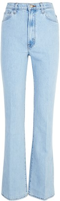 J Brand 1219 Runway Light Blue Bootleg Jeans