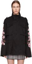 Off-White Black Diagonal Cherry M65 Jacket