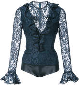 Alexis lace embroidered body