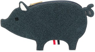 Thom Browne Fluffy-Pig Clutch