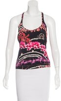 Just Cavalli Printed Tank Top