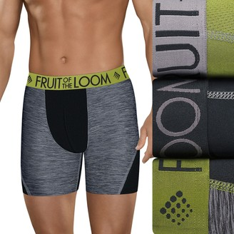 Fruit of the Loom Men's Signature 3-pack Breathable Micro-Mesh Boxer Briefs