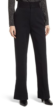 Rebecca Minkoff Flora High Waisted Wide Leg Pants