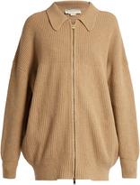 Stella McCartney Zip-front wool cardigan