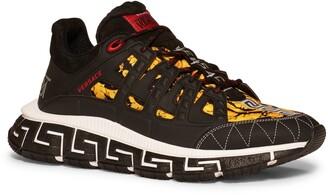 Versace Trigreca Barocco Low Top Sneaker