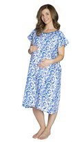 Baby Be Mine Gownies-Labor&Delivery Maternity Hospital Gown, L/XL pre pregnancy 10-16