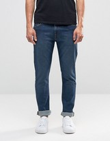 Weekday Form Super Skinny Jeans In Stretch Mtw Mid Blue