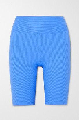 YEAR OF OURS Ribbed Stretch Shorts - Blue