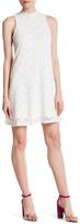Marina Floral Lace A-Line Dress