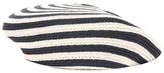 Gucci Striped straw beret
