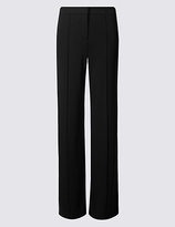 M&S Collection Ponte Wide Leg Trousers