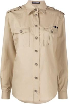 Dolce & Gabbana Safari oversized shirt