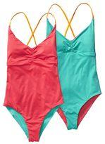 Patagonia Women's Reversible One-Piece Kupala Swimsuit