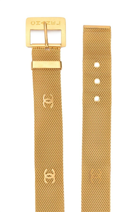 Thumbnail for your product : Chanel Pre Owned CC chainmail belt