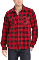 Chaps Big & Tall Classic-Fit Microfleece Shirt Jacket