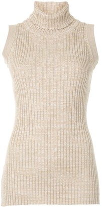 Anna Quan Andi turtleneck knitted top