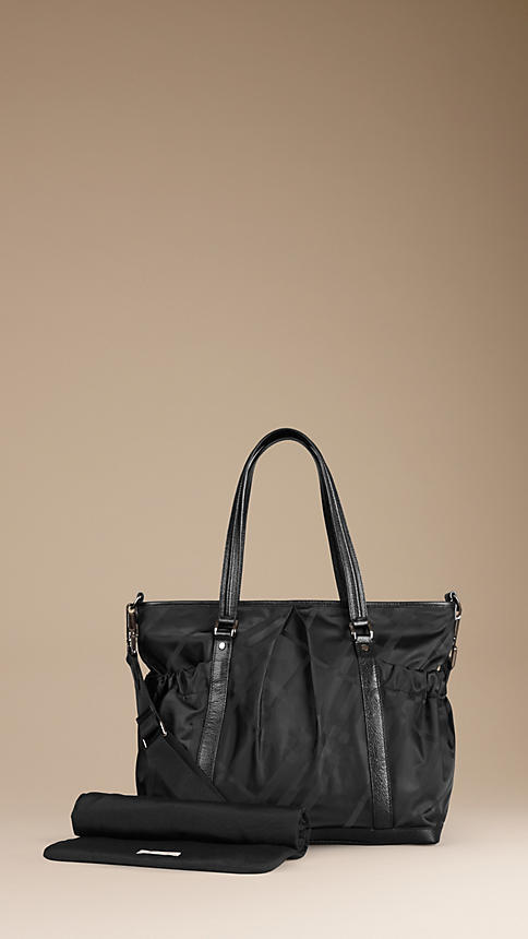 Burberry Check Baby Changing Tote Bag