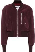 Acne Studios Suede bomber jacket