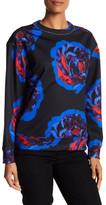 DKNY Scuba Floral Pullover