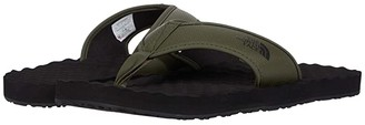 The North Face Base Camp Flip-Flop II (New Taupe Green/TNF Black) Men's Shoes