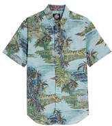 Reyn Spooner Diamond Head Classic Fit Print Sport Shirt