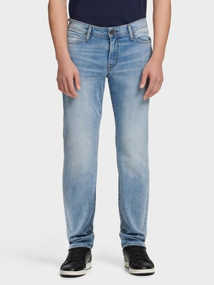 DKNY Men's Slim Jeans - Karma Light Wash - Size 38x32