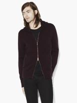 John Varvatos Cashmere Hooded Sweater