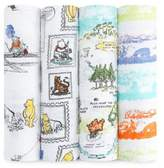 Aden Disney by Aden + Anais aden® Disney by aden + anais® 4-Pack Winnie the Pooh Muslin Swaddle Blankets