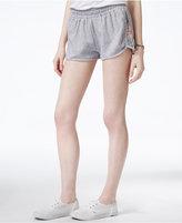 Roxy Juniors' Smocked-Waist Active Shorts