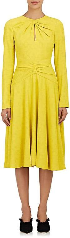 Prabal Gurung Women's Jacquard Twist Midi-Dress