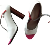Marc Jacobs White Patent leather High heel
